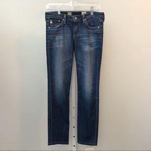 AG Jeans 27R Aubrey Skinny Straight Leg *hemmed*